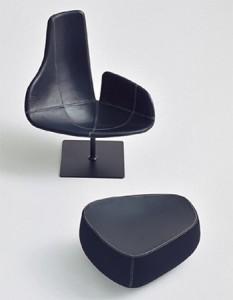 кресло Fjord для Moroso 2002, дизайн Патриции Уркиолы