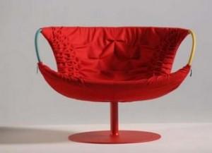 кресла Smock для Moroso 2005, дизайн Патриции Уркиолы