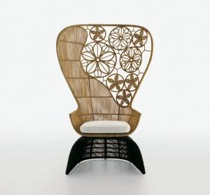 кресло Crinoline для B&B 2008, дизайн Патриции Уркиолы