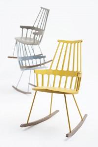 стулья Comback для Kartell 2013, дизайн Патриции Уркиолы