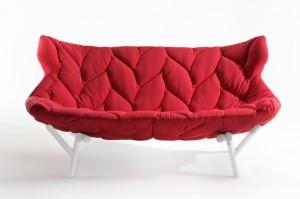 диван Foliage для Kartell 2013, дизайн Патриции Уркиолы