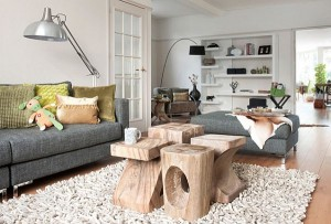sculpted-logs-as-coffee-table-in-bright-living-room-design