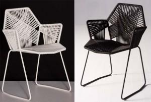коллекция стульев Tropicalia для Moroso 2008, дизайн Патриции Уркиолы